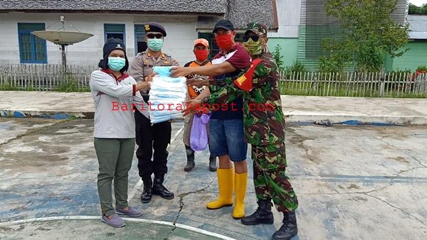 Polsek Montallat Gelar Apel, Satukan Persepsi Tanggulangi Bencana Banjir Dan Penanganan Covid-19