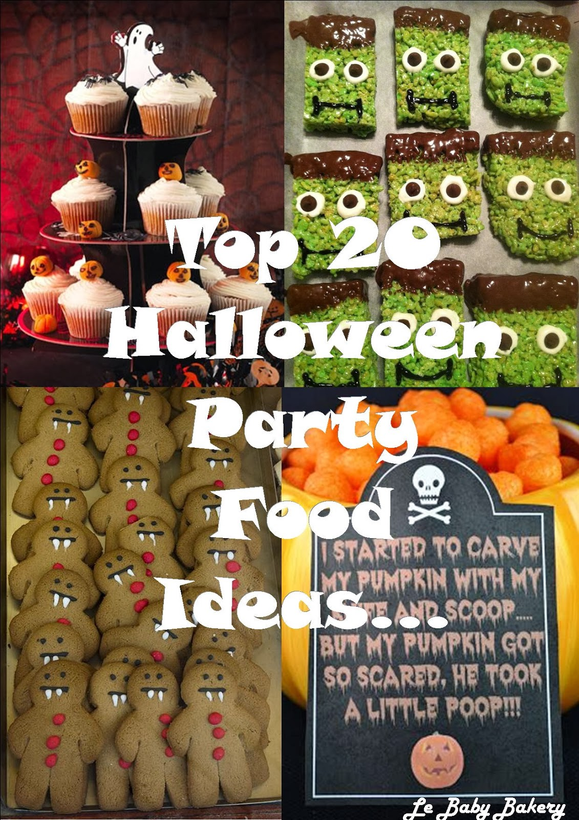 Top 20 Halloween Party Food Ideas