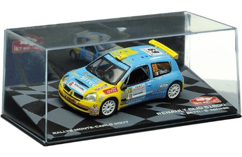 collezione rally monte carlo Renault Clio S1600 2007 Luca Betti - Giovanni Agnese
