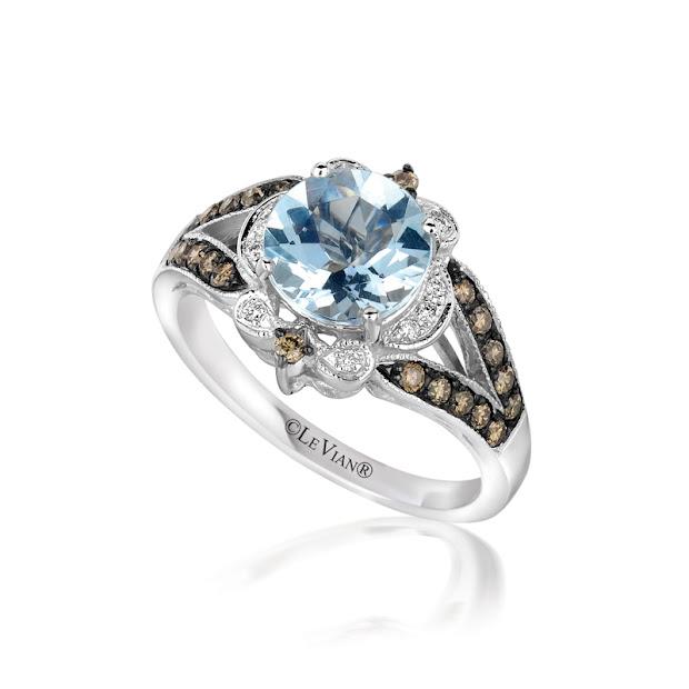 Le Vian Aquamarine Ring