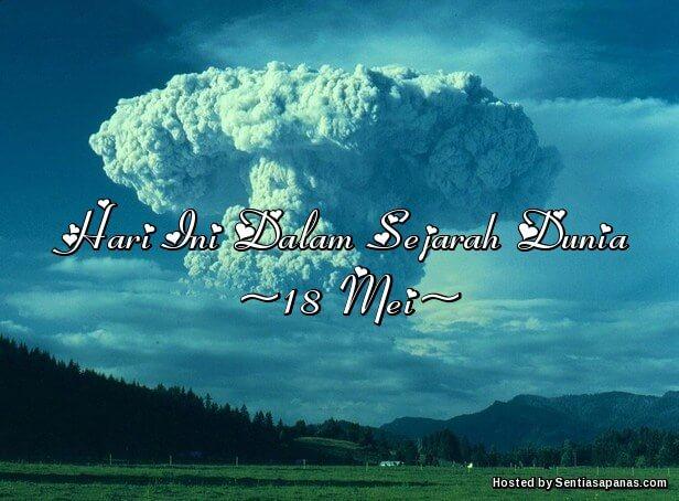 Gunung St. Helens meletus