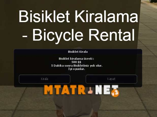 Bisiklet Kiralama - Bicycle Rental