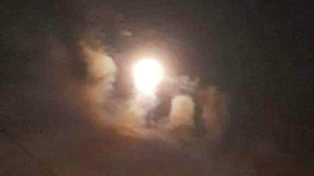 Warga Geger! Tiba-tiba Awan di Langit Blora Membentuk Lafadz Allah pada Pertengahan Ramadan