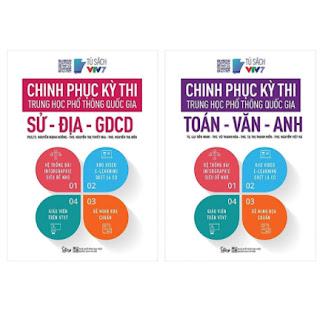 Combo Trọn Bộ 2 Cuốn Chinh Phục Kỳ Thi Trung Học Phổ Thông Quốc Gia: Sử - Địa - Giáo dục công dân; Toán - Văn - Anh ebook PDF EPUB AWZ3 PRC MOBI