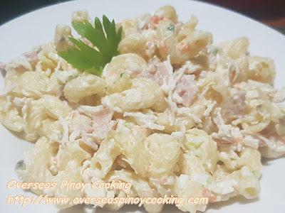 Pinoy Macaroni Salad