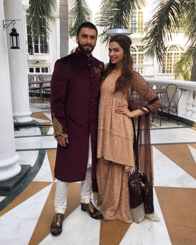 Deepika Padukone's Bridal Lehenga Cost Revealed ...