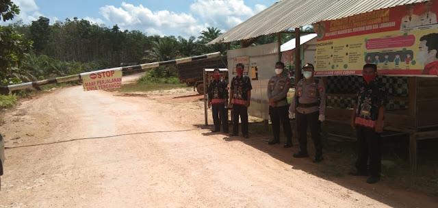 Dukung Program Lewu Isen Mulang, Kapolsek Bulik Cek Kesiapan Desa Bukit Makmur