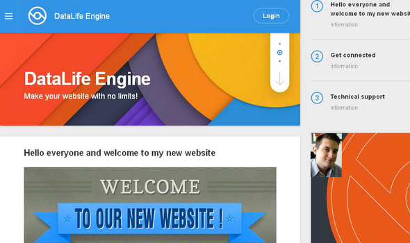 DataLife Engine v11.1 - The Ultimate Content Management System