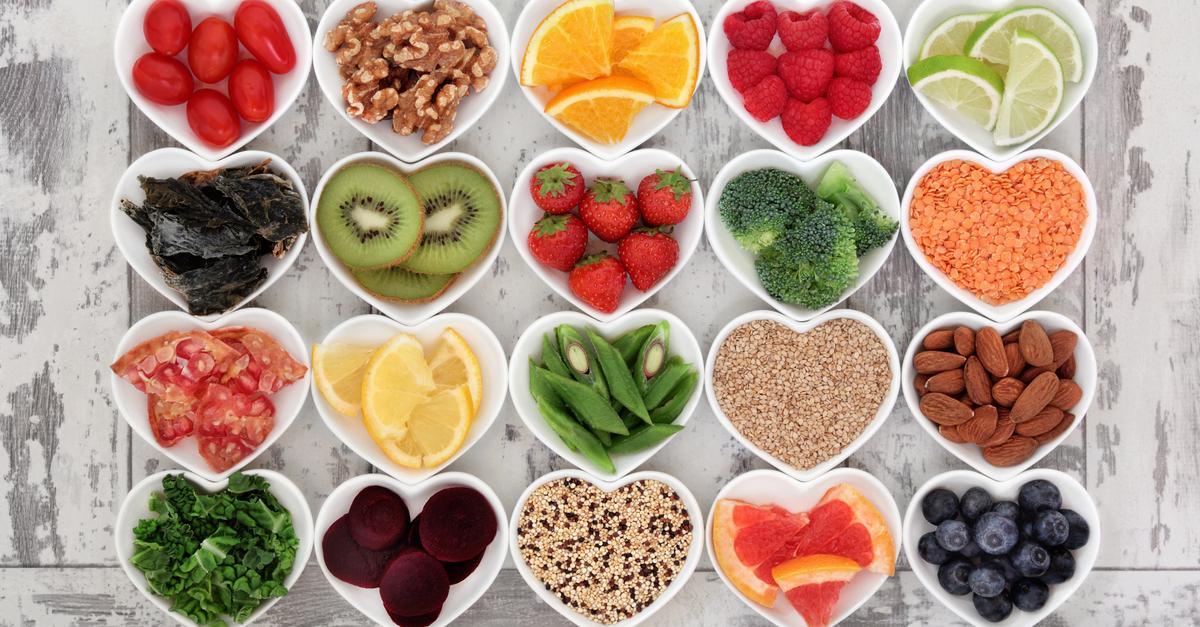 حصص الطعام الصحية على مدار اليوم