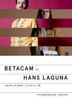 Concierto de Betacam y Hans Laguna en Fotomatón Bar