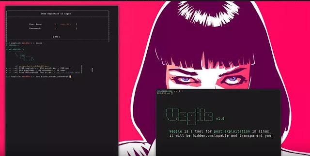 شرح أداة Vegile لانشاء backdoor-rootkit
