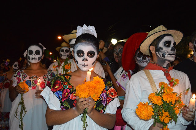 Image: Day of the Dead in Mexico, by Darvin Santos on Pixabay