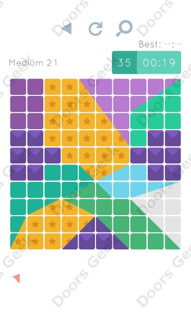 Cheats, Walkthrough for Blocks and Shapes Medium Level 21