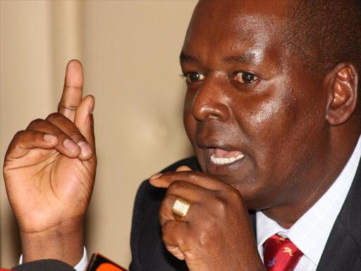 National Assembly Majority leader Amos Kimunya photo