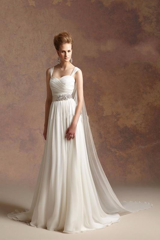 Hot Sale Goddess Bridal Gowns Discount | bridal and prom ideas