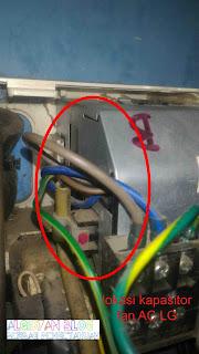 ganti kapasitor indoor ac lg - gambar 6