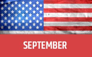 September usa calendar