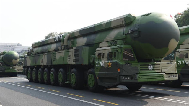 EEUU acusa a China de ensayos nucleares; Pekín lo tacha de mentira