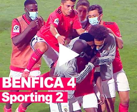 Benfica 4-2 Sporting, Liga Revelacao, 2020,