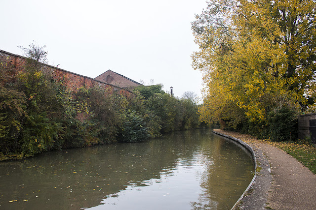 Grand Union Canal behind Wolverton works