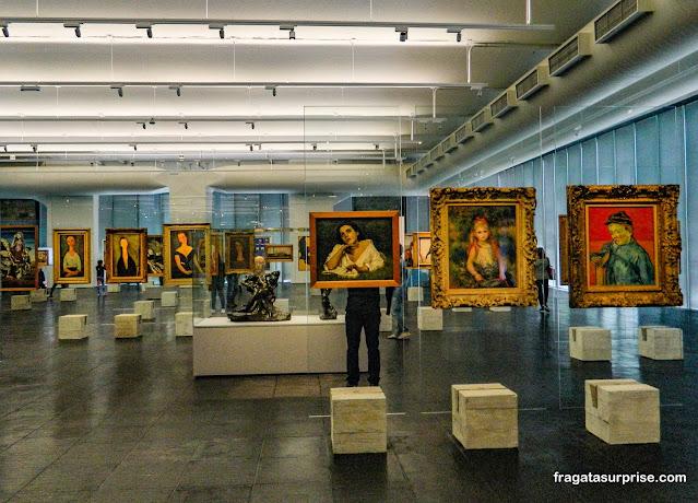 elas de Van Gogh, Renoir e Modigliani no MASP - Museu de Arte de São Paulo,