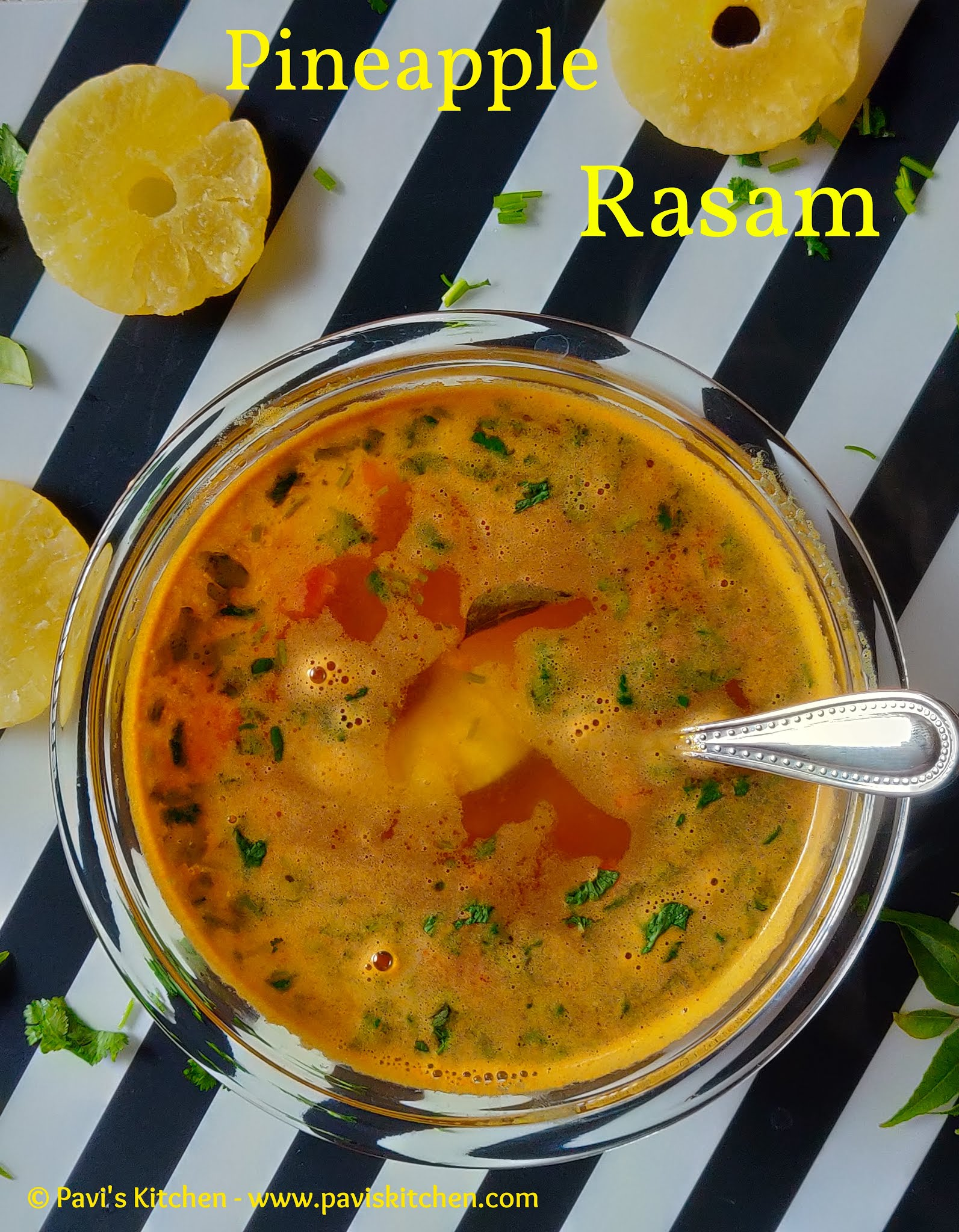 Pineapple Rasam Recipe | Pineapple Dal Rasam