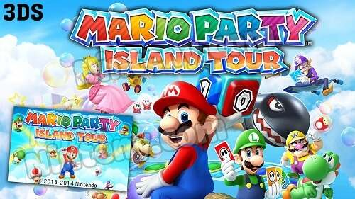 Mario Party Island Tour 3DS Decrypted