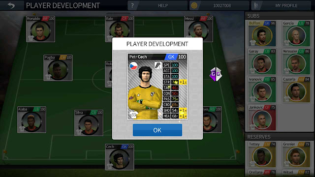 dream league soccer unlimited player development