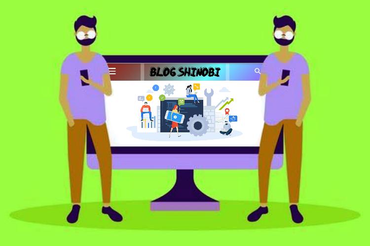 Bayangan Logo Blog Bolak-balik