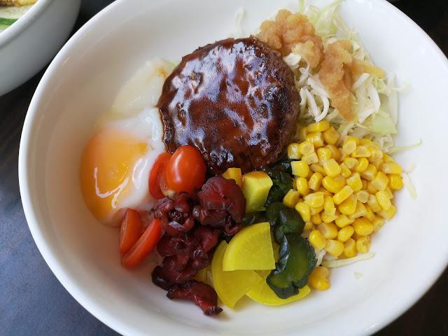 Beef Donburi with Wafu Sauce