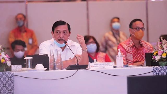Luhut Ungkap Rencana Impor 10 Ribu Konsentrator Oksigen dari Cina dan Singapura