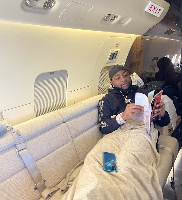 'Poses With Infinix, Posts With iPhone' - Social Media Users React To Davido's Photo