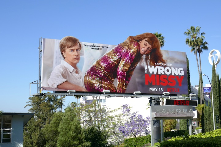 Wrong Missy movie extension billboard