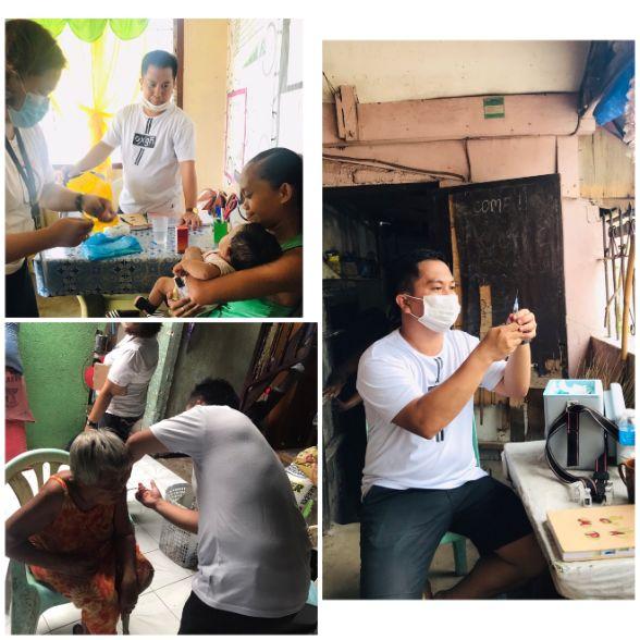 Nurse educator Danhill C. Donoga