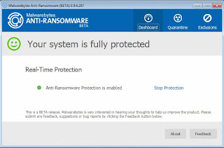 Download Malwarebytes Anti-Ransomware Untuk Mencegah Ransomware