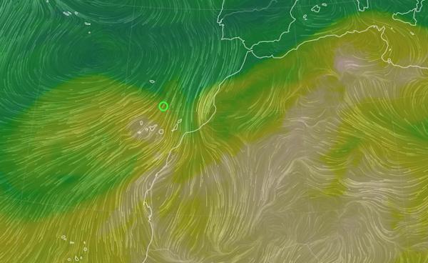 Calima en Canarias y avisos por vientos mayo 2021