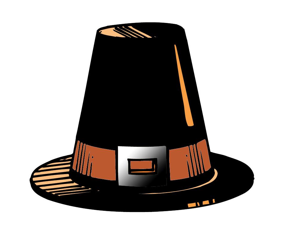 pilgrim hat clipart free - photo #17