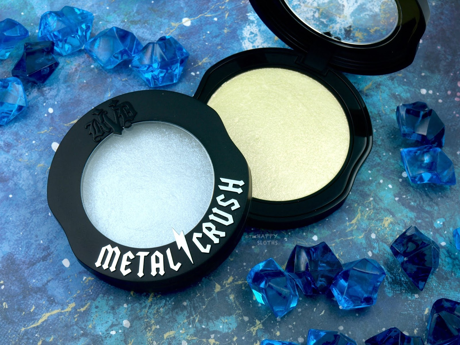 Kat Von D   Metal Crush Extreme Highlighter: Review and Swatches