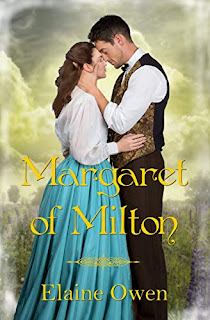 Book cover: Margaret of Milton by Elaine Owen