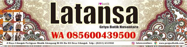 Jual Batik Pekalongan Indonesia Latansa