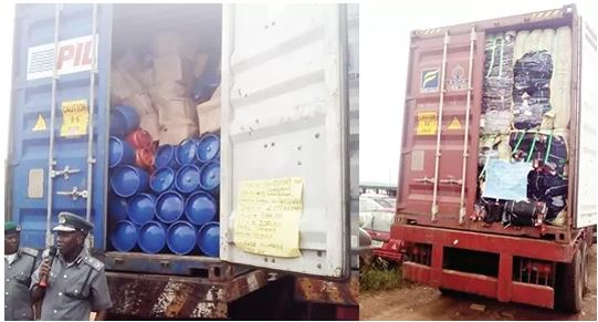 Customs Bust Top Smugglers, Seize N1.3bn Rice, Vehicles