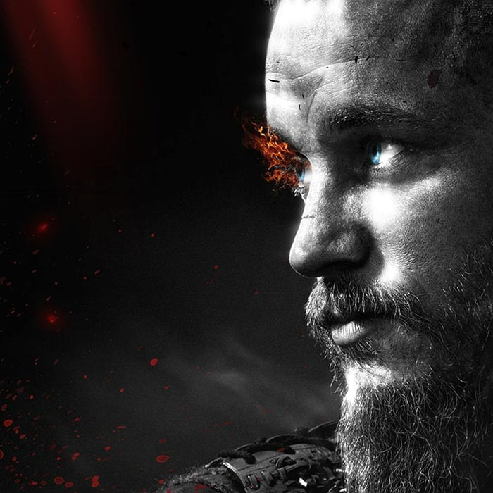 Ragnar Lothbrok Black Theme Wallpaper Engine Download