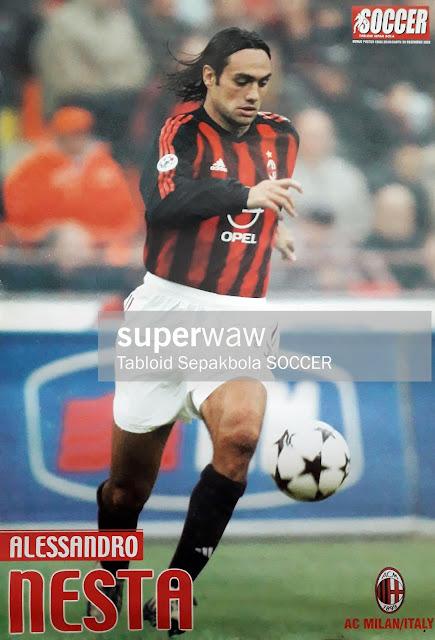 ALESSANDRO NESTA AC MILAN 2002