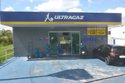 Assalto na Ultragaz do bairro Hatori em Registro-SP neste sábado 25/04
