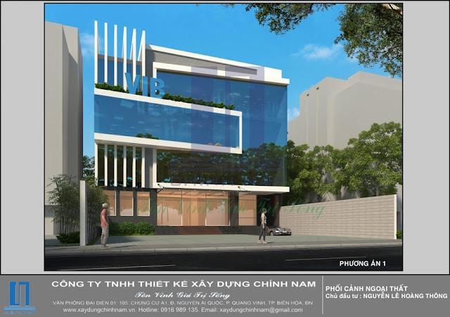 CC18: Thiết kế Cao ốc văn phòng ở Đồng Nai