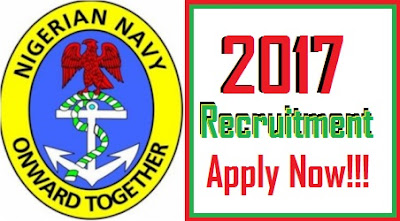 Apply Here for Nigerian Navy Recruitment 2017 Exercise | www.joinnigeriannavy:com