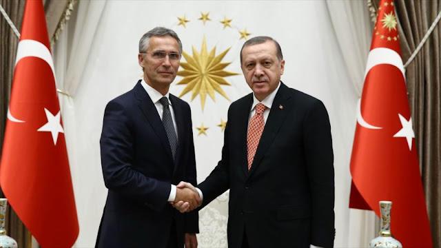 OTAN aumenta su fuerza aérea y escudo antimisiles en Turquía