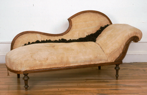 Hair relaxer 1998 chaise longue and human hair for Chaises longues tressees