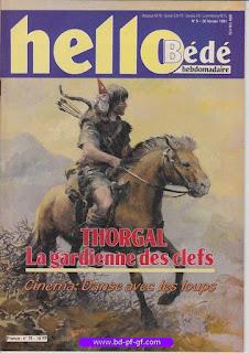 Hello-Bébé, numéro 9, 1991,Thorgal: La gardienne des clefs