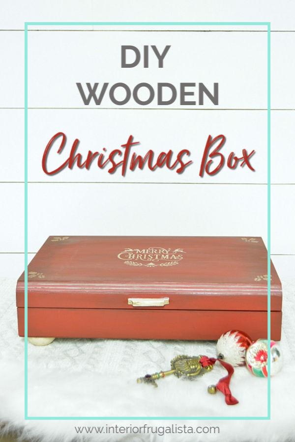 DIY Wooden Christmas Box